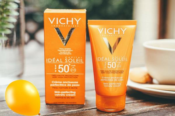 ke chong nang vichy capital ideal soleil spf 50+
