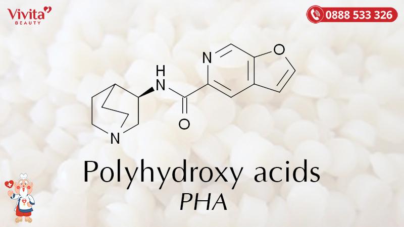 Hai hoạt chất PHA chúng ta thường bắt gặp trong mỹ phẩm đó là gluconolactone và lactobionic acid.